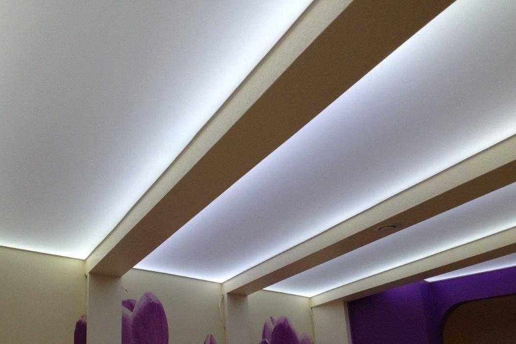 Транслюцентные натяжные потолки MSD Translucent