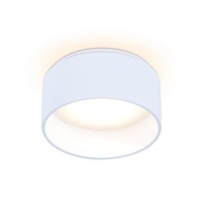 Ambrella TN190 WH/S белый/песок GU5.3 D80*60 Светильник встраиваемый
