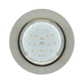Ecola GX53 5310 H4 Glass Круг с подсветкой хром-матовый